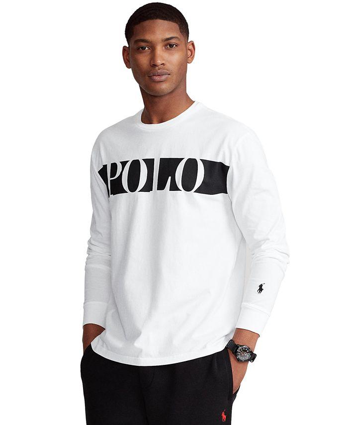 Polo Ralph Lauren Men's Classic-Fit Graphic T-Shirt & Reviews - T ...