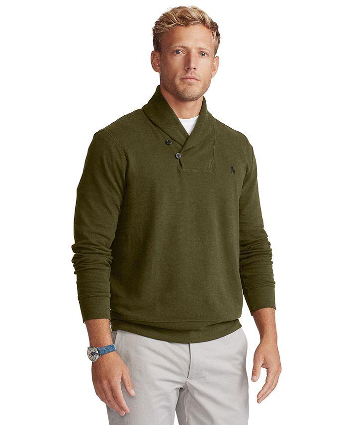 Polo Ralph Lauren - Men's Double-Knit Jersey Sweater