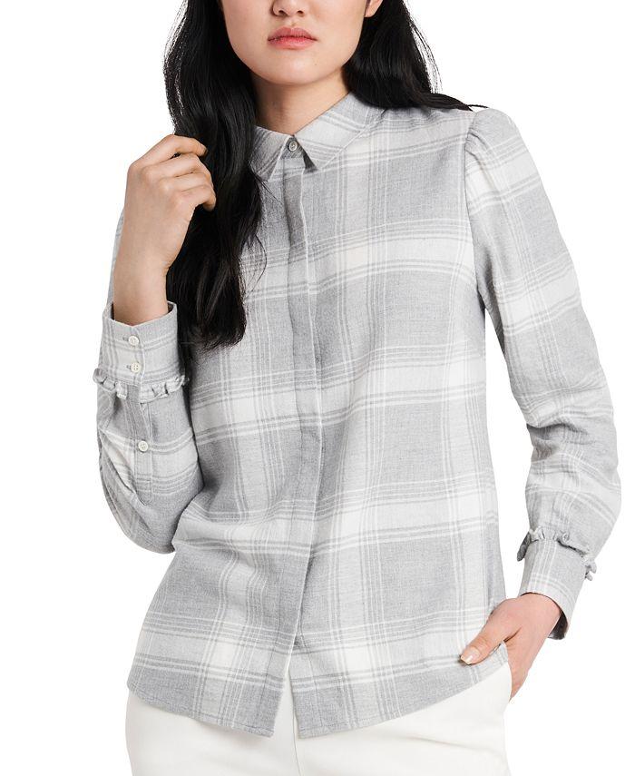 Riley & Rae - Nina Plaid Flannel Shirt