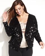 Black Sequin Jacket: Shop for a Black Sequin Jacket at Macy's