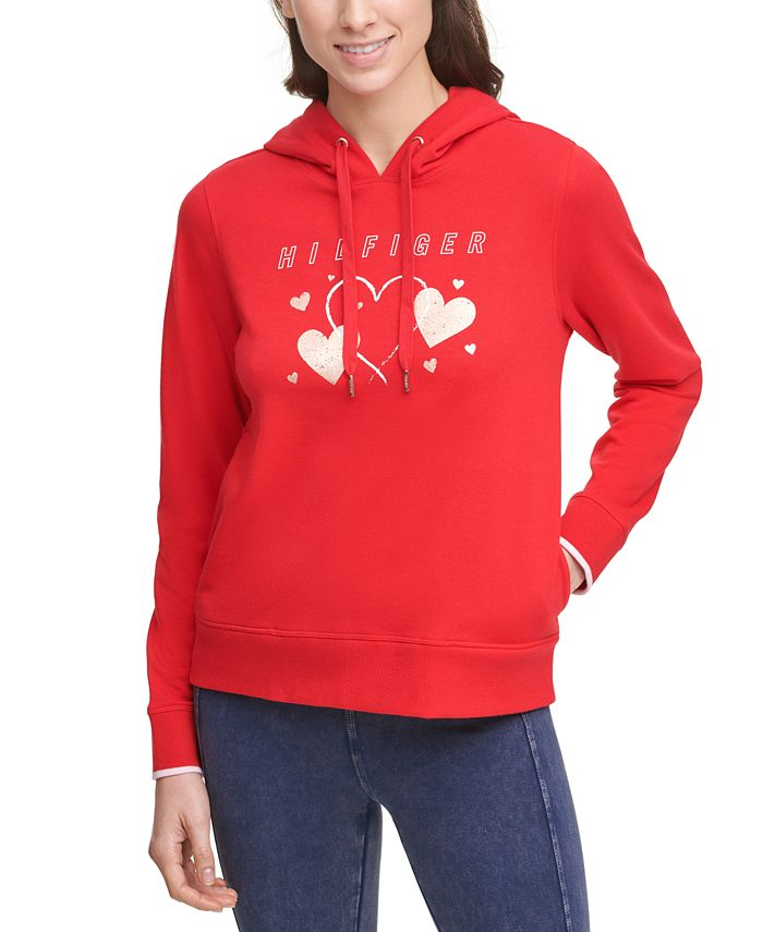 Tommy Hilfiger - Heart Graphic Hoodie