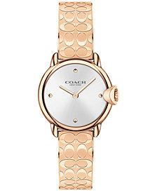 COACH Women's Arden Rose Gold-Tone Bracelet Watch 26mm