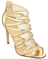 Gold Strappy Sandals: Gold Strappy Heels Macy's
