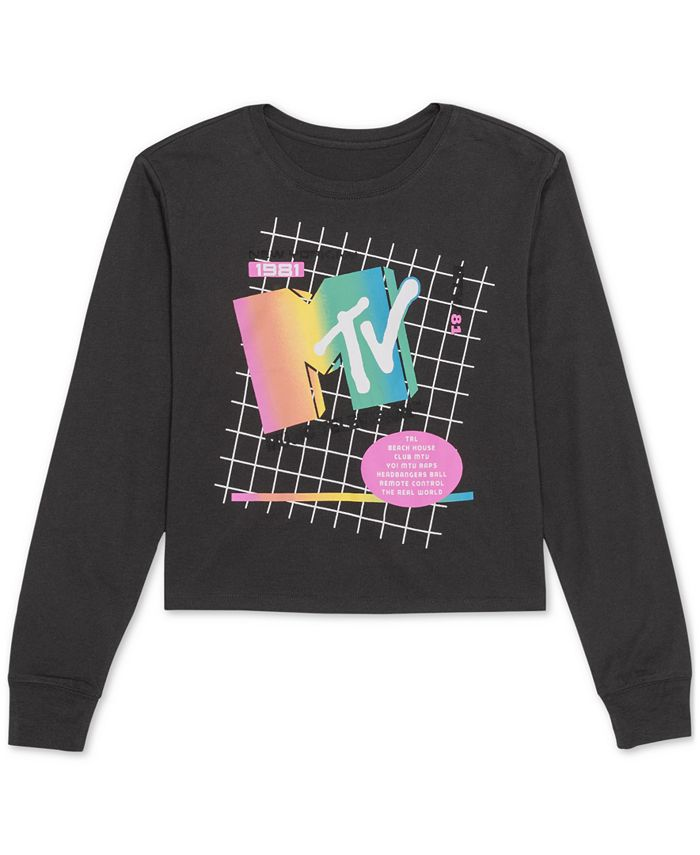 Love Tribe - Juniors' MTV Graphic Top