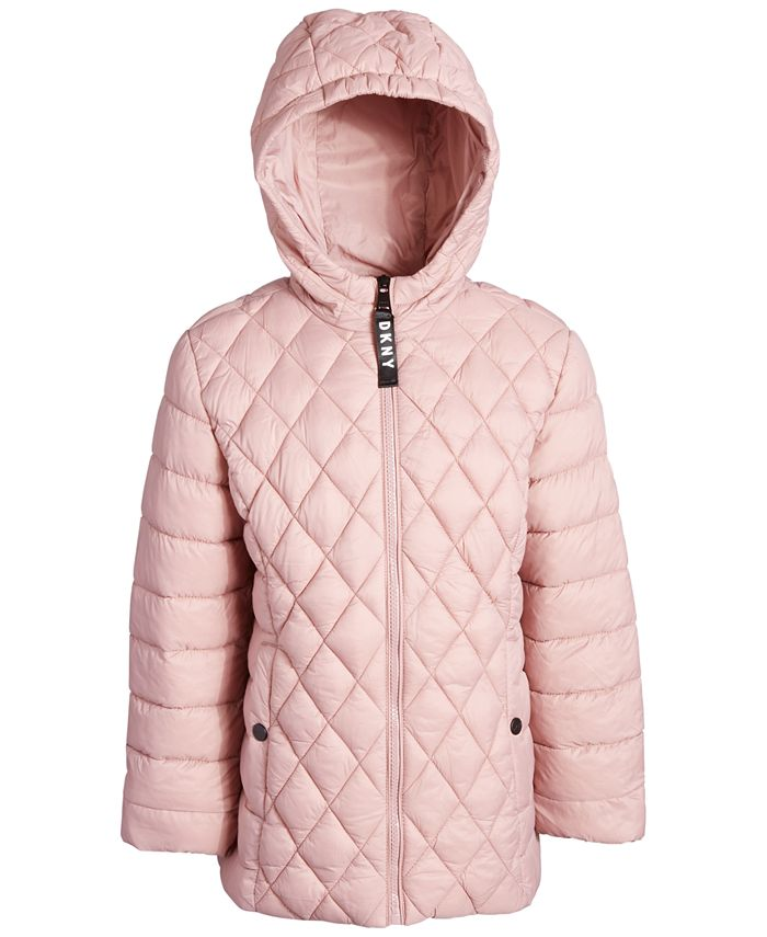 DKNY - Engineered Quilted Packable Jacket