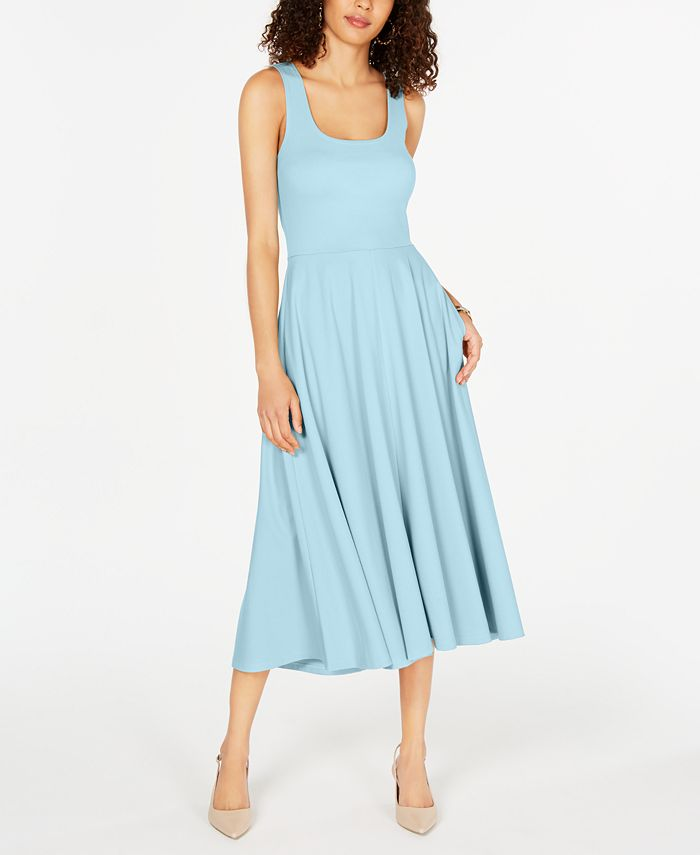 Alfani - Tank Fit & Flare Midi Dress
