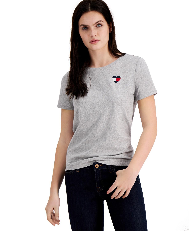 Tommy Hilfiger Heart-Logo T-Shirt