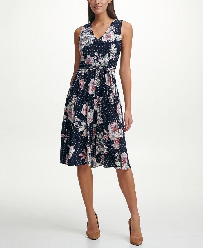 Tommy Hilfiger - Bloom Floral Fit & Flare Dress