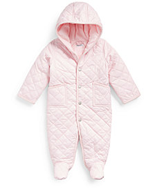Ralph Lauren Baby Boys and Girls Quilted Barn Bunting
