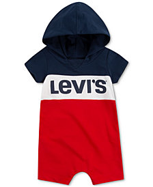 Levi's Baby Boys Hooded Romper