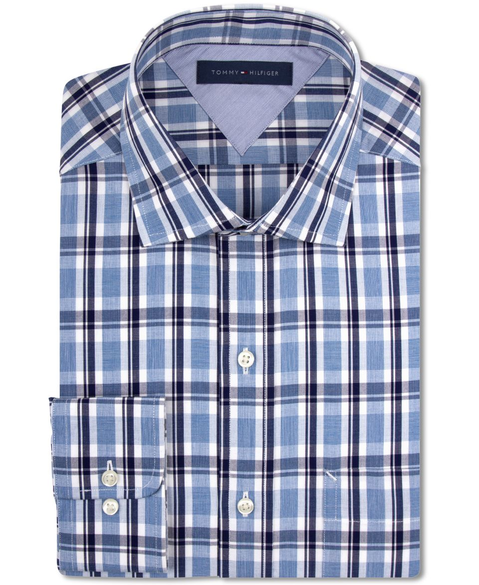 Vince Camuto Slim Fit Check Dress Shirt   Dress Shirts   Men
