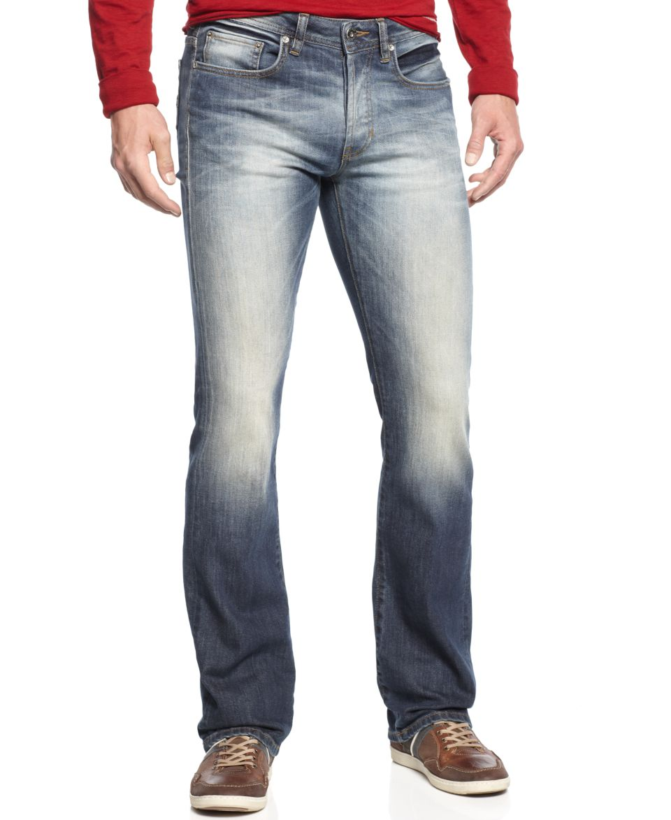 dea32ef751f Buffalo David Bitton King Slim Boot Cut Jeans, Indigo Wash Jeans Men ...