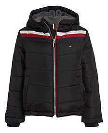 Tommy Hilfiger Little Boys Chevron Signature Jacket