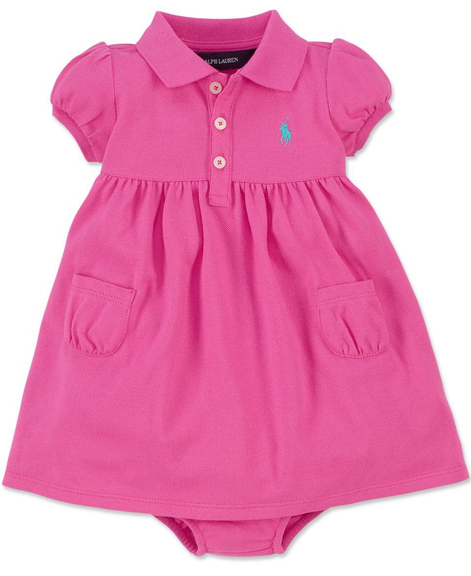 Ralph Lauren Baby Girls Dress, Baby Girls Colorblocked Dress   Kids
