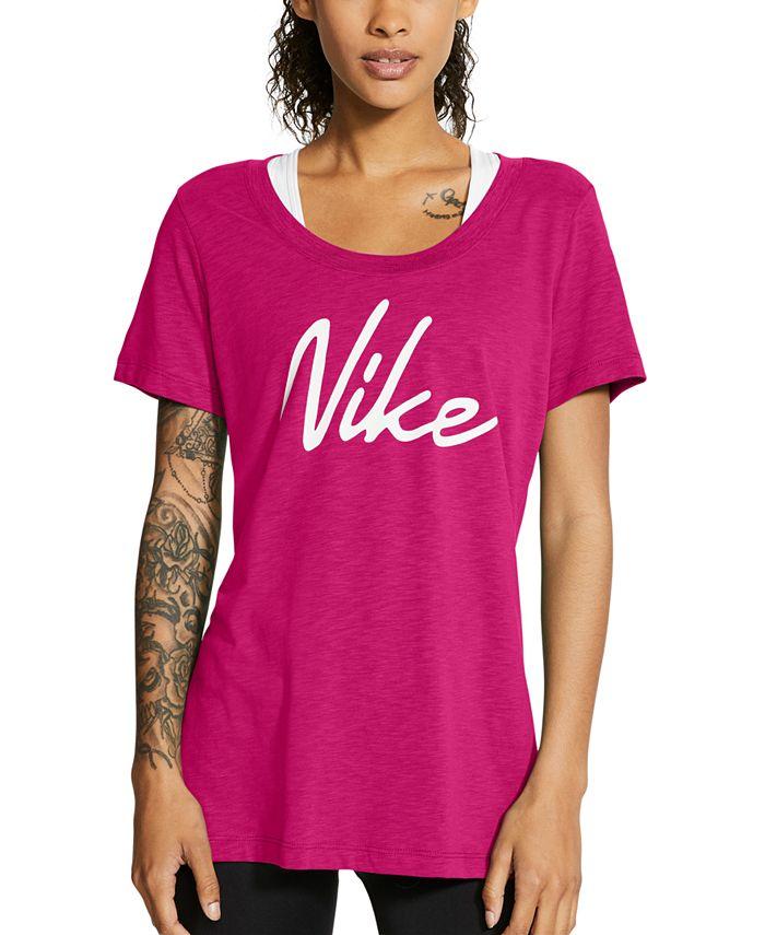 Nike - Dri-FIT Script-Logo Training T-Shirt