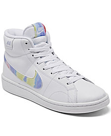 Nike Women's Court Royale 2 Mid High-Top Casual Sneakers from Finish Line