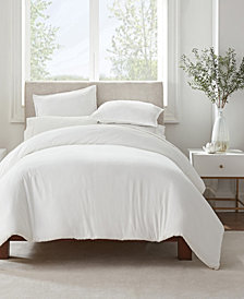 Serta Simply Clean Antimicrobial King Duvet Set, 3 Piece