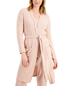 Charter Club Luxe Ribbed Wrap Robe, Created for Macy's