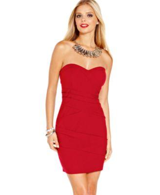 Diamond Ring: Red Dresses For Juniors Macy's
