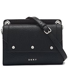 DKNY Gianna Leather Crossbody