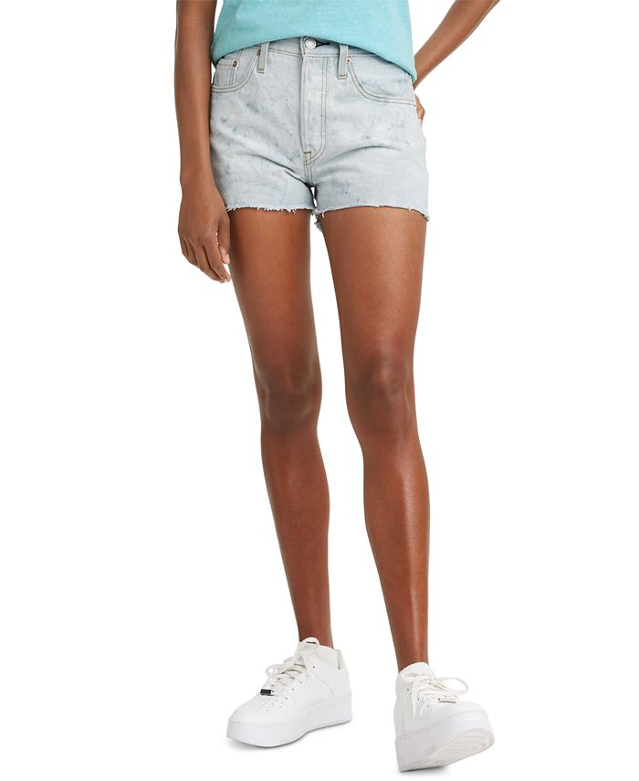 Levi's - 501® Cotton High-Rise Denim Shorts