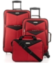 Travel Select Bay Front 3 Piece Spinner Luggage Set