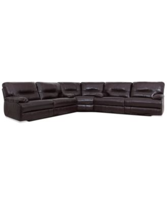 Awesome Brant Leather Power Motion 3 Piece Sectional Sofa (2 Power Motion Sofas And  Wedge