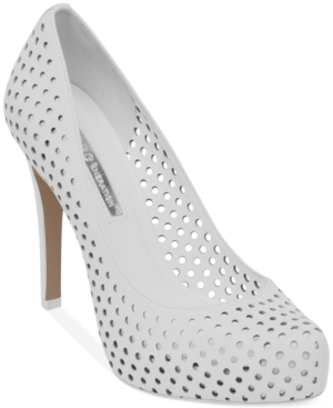 BCBGeneration Polka Platform Pumps Women's Shoes