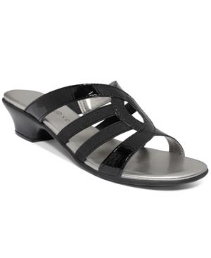 Karen Scott Emet Slide Sandals, Only at Macy's Women's Shoes