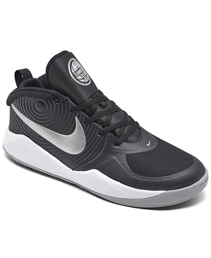 Nike - Boys Team Hustle D 9 Basketball Sneakers from Finish Line