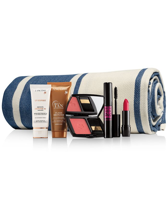 Lancôme - - Fun in the Sun - Includes 6 Full Sizes! Only $45 with any Lancôme Purchase. A $139 Value!