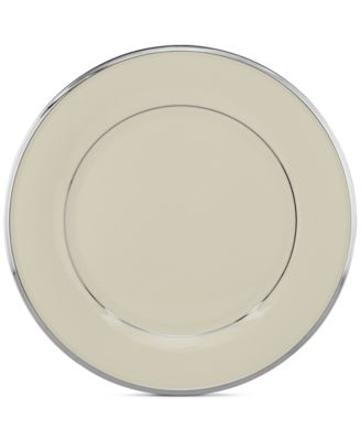 "Lenox ""Solitaire"" Dinner Plate"