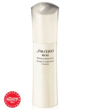 Shiseido Ibuki Refining Moisturizer, Ready for anything skin. This ultra-light emulsion intensively corrects the appearance of unevenness from visible pores, blemish marks and skin roughness by helping to build skin's strength to resist problems. Renews t