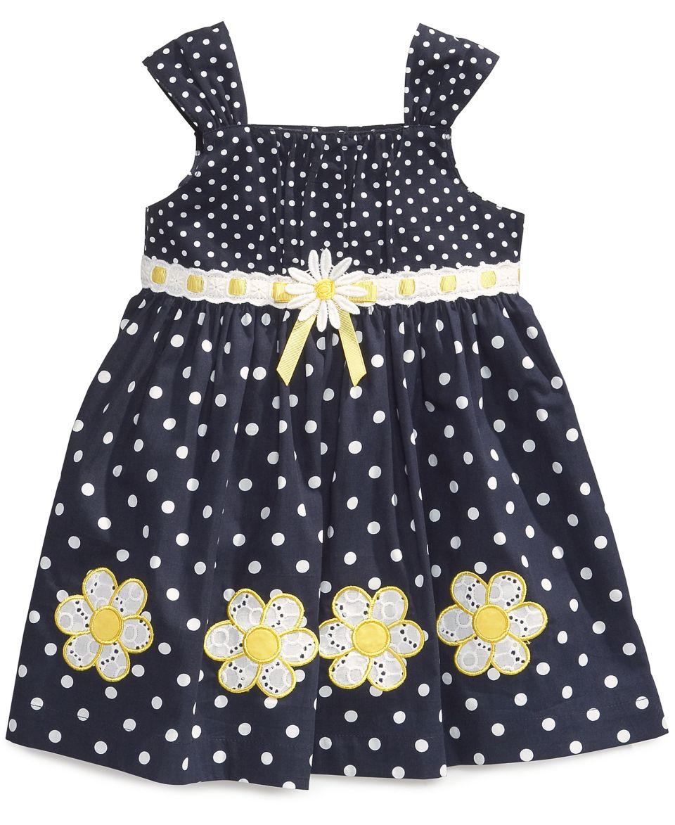 Blueberi Boulevard Baby Girls Gingham Halter Dress   Kids