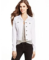 White Denim Jacket: Buy a White Denim Jacket at Macy's
