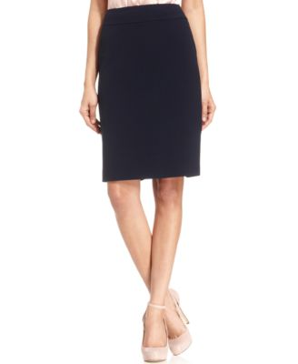 Womens Navy Blue Skirt