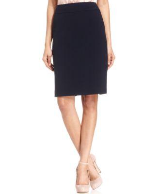 Womens Navy Blue Skirt