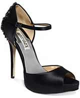 Black Satin Pumps: Buy the freshest styles of Black Satin Pumps at ...