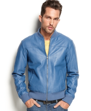 Armani Jeans Eco Faux-Leather Jacket $ 395.00