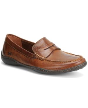 Born Simon Moc Toe Loafers Men's Shoes