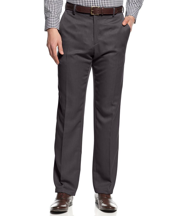Kenneth Cole Reaction - Slim-Fit Low-Rise Urban Pants