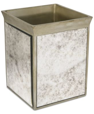 Kassatex Bath Accessories, Palazzo Trash Can