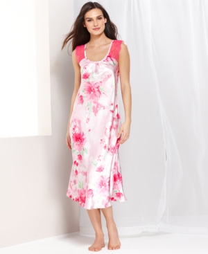 Jones New York - Printed Satin Gown
