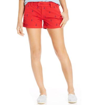 Red Shorts Juniors