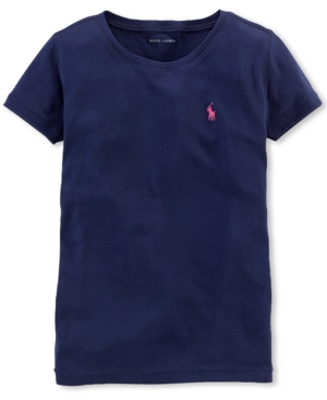 Ralph Lauren - Girls' Cotton Short-Sleeve Tee