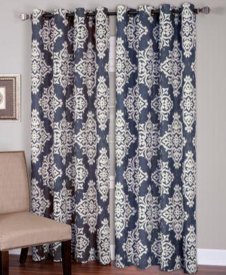 """Elrene Linen Medina 52"""" x 84"""" Panel"""