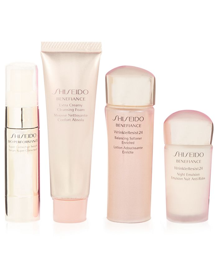 Shiseido - Receive your Choice of a Complimentary  Deluxe Skincare Sample with your $80 Shiseido Purchase