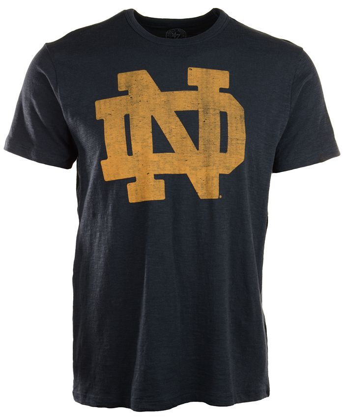 '47 Brand - Men's Short-Sleeve Notre Dame Fighting Irish Scrum T-Shirt