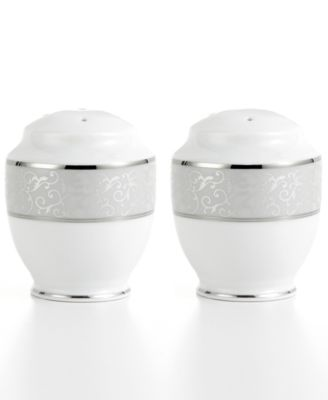 Mikasa Dinnerware, Parchment Salt and Pepper Shakers
