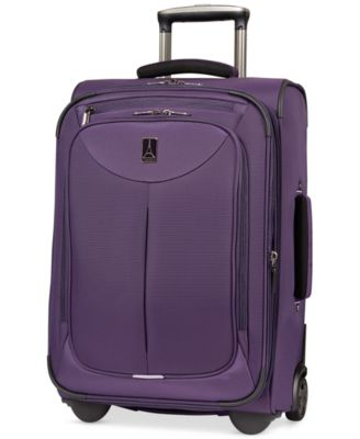 "CLOSEOUT! 60% Off Travelpro WalkAbout 2 22"" Rolling Expandable Suitcase (Only at Macy's)"